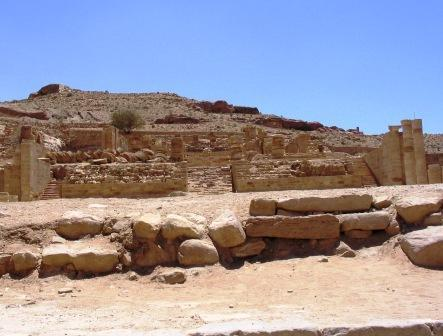 Photo of the rubble from Temple of Jerusalem