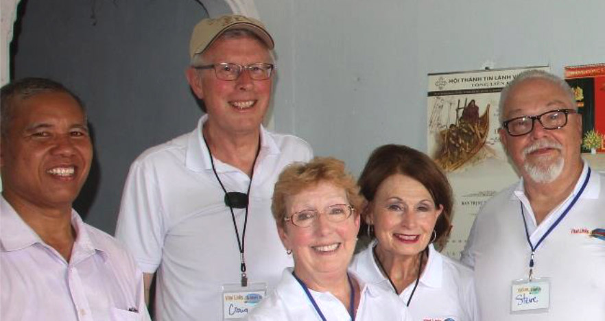 Photo of Living Word Lutheran Church mission team