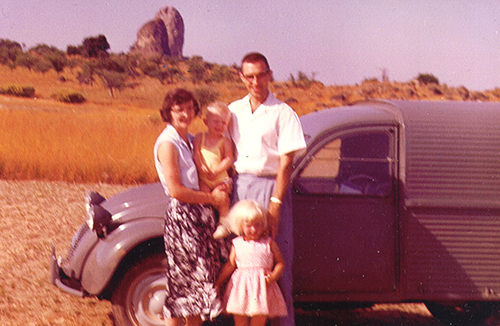 Photo of the Raun family