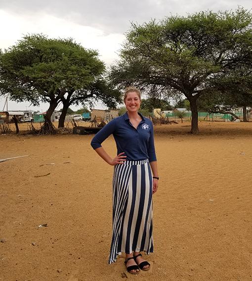 Photo of Tiffany Smith in Botswana