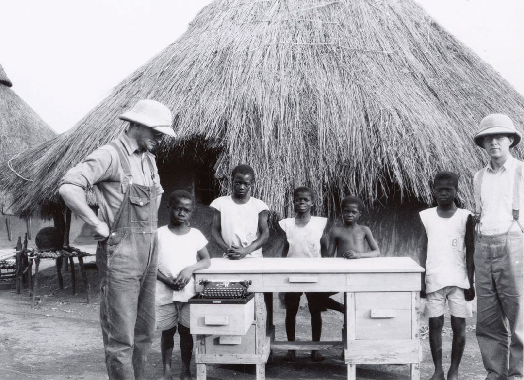 Photo of missionaries in Mboula